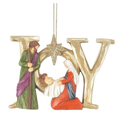 Holy Family, Joy Ornament  -