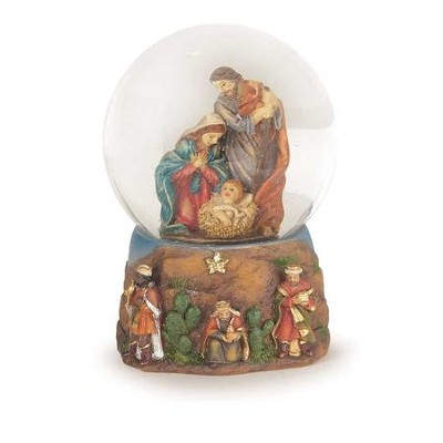 Holy Family Water Globe  -