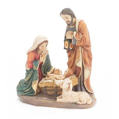 Holy Family Figurine, 4.5 Inches  -