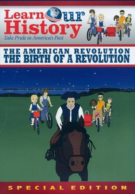 Birth of a Revolution, DVD Mike Huckabee's Learn Our History  -