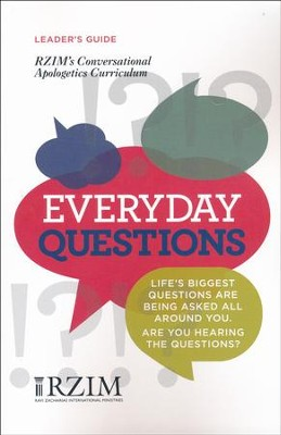 Everyday Questions Curriculum: Leader's Guide  -     By: Drew McNeil, Carson Weitnauer, Ravi Zacharias International Ministries