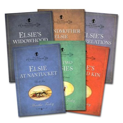 The Original Elsie Dinsmore Collection, Volumes 7-12   -     By: Martha Finley