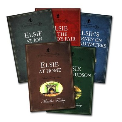 Elsie Dinsmore Collection, volumes 19-23  -     By: Martha Finley