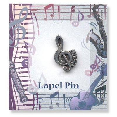 The Gift of Music Lapel Pin   -     By: Bob Siemon