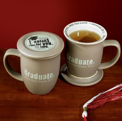 Graduation Mug and Coaster  -