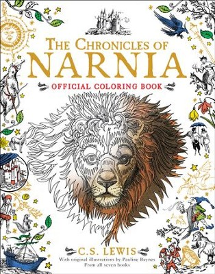 The Chronicles of Narnia Official Coloring Book  - Slightly Imperfect  -