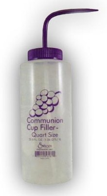Communion Cup Filler Bottle, Quart  -