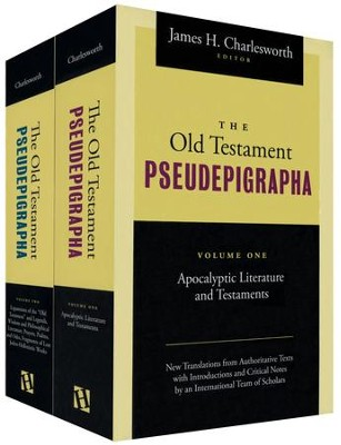 The Old Testament Pseudepigrapha: Apocalyptic Literature and Testaments, Two Volume Set - Slightly Imperfect  -