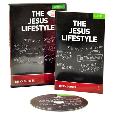 The Jesus Lifestyle--Series 3 DVD   -     By: Nicky Gumbel