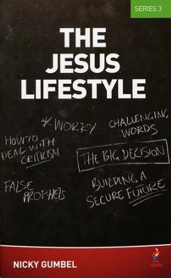 Jesus Lifestyle Series 3--Course Manual   -     By: Nicky Gumbel