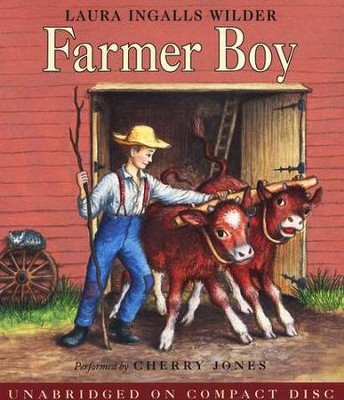 Farmer Boy, Little House on the Prairie #3 (Audiobook on CD)  -     By: Laura Ingalls Wilder