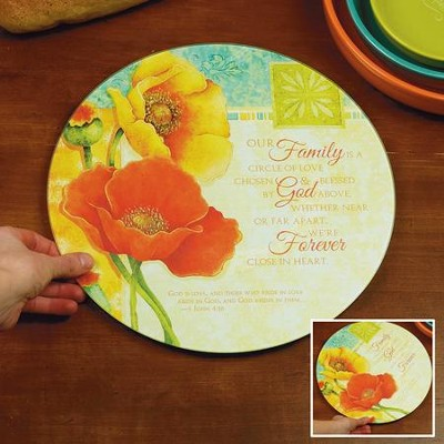 Blooming Blessings Lazy Susan  -