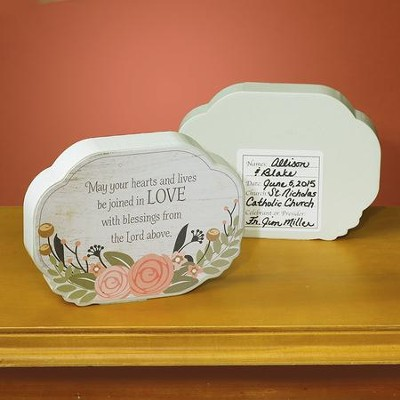 Joined in Love Tabletop Plaque  -