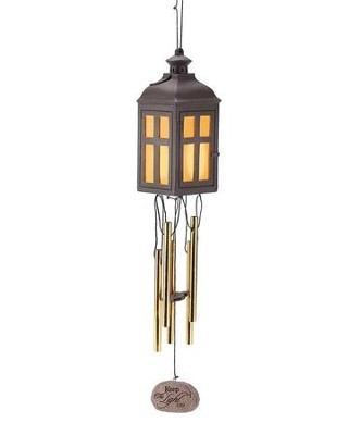 Keep the Light On LED Wind Chimes  -