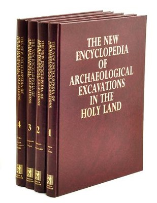 New Encyclopedia of Archaeological Excavations in the Holy Land (Volumes 1-4)  -