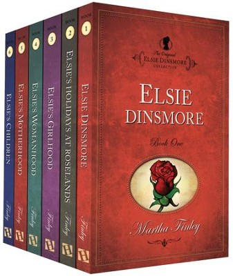 Elsie Dinsmore Collection, Volumes 1-6   -     By: Martha Finley