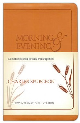 Morning and Evening, NIV edition, flexisoft leather light tan  -     By: Charles H. Spurgeon