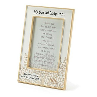 My Special Godparent Photo Frame  -