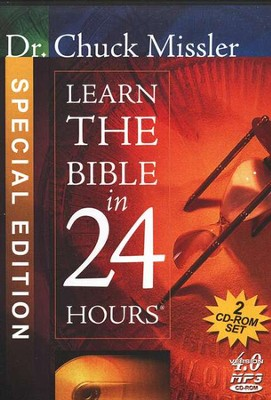 Learn the Bible in 24 Hours                          - Audiobook on MP3 CD-ROM  -     By: Chuck Missler