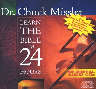 Learn the Bible in 24 Hours               - Audiobook on CD  -     By: Chuck Missler