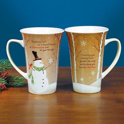 Thanking God For a Friend Like You At Christmastime Mug  -
