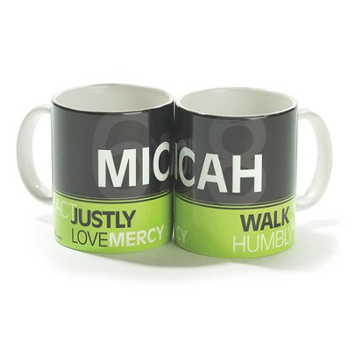 Micah 6:8, Act Justly, Love Mercy, Walk Humbly Mug  -