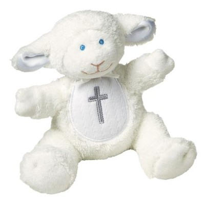 Christening Lamb, White   -