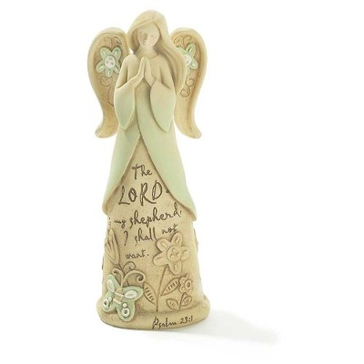 Faith Angel, The Lord Is My Shepherd, Garden Figurine  -