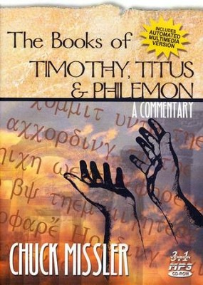 1 & 2 Timothy & Titus                    - Audiobook on MP3 CD-ROM  -     By: Chuck Missler