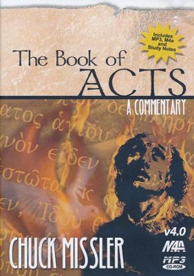 Acts Commentary          - Audiobook on MP3 CD-ROM  -     By: Chuck Missler