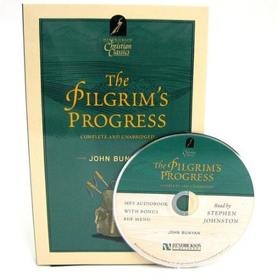 The Pilgrim's Progress, Book and MP3 Audio   -     Narrated By: Stephen Johnston     By: John Bunyan