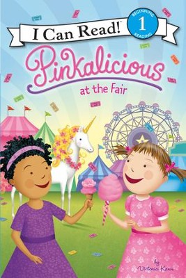 Pinkalicious at the Fair, hardcover  -     By: Victoria Kann     Illustrated By: Victoria Kann