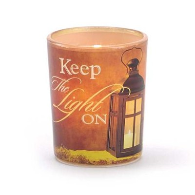 Keep the Light On Tealight Holder  -