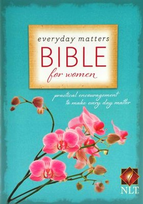 NLT Everyday Matters Bible for Women, Hardcover  - Slightly Imperfect  -