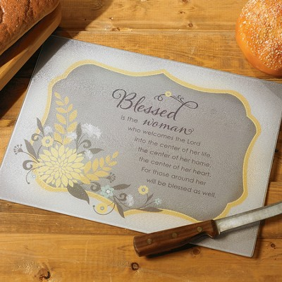 Blessed Woman Cutting Board  -