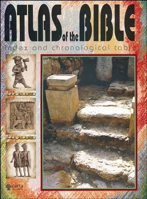 Atlas of the Bible - Index and Chronological Table (Carta)   -