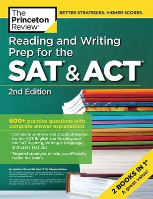 Reading and writing prep for the sat act 2nd edition princeton reading and writing prep for the sat act 2nd edition by princeton fandeluxe Images