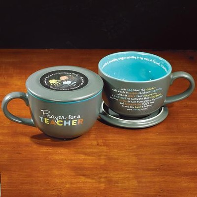 Prayer For A Teacher Soup Mug  -
