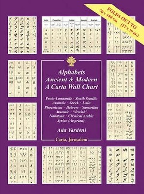 Alphabets Ancient & Modern - A Carta Wall Chart  -