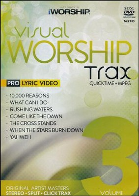 iWorship Visual Worship Trax, Volume 3   -