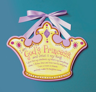 God's Princess Plaque  -