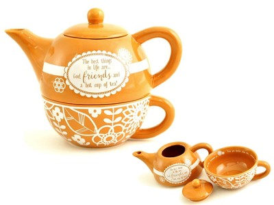 Friends--Teapot for One   -