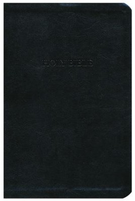 The A. W. Tozer Bible: KJV Version, Flexisoft leather, black  -