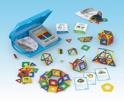 GEOMAG Education Kit: Shape & Space Panels (244 pieces)  -