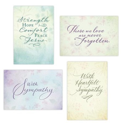 Simply Stated - Sympathy Boxed Cards  -