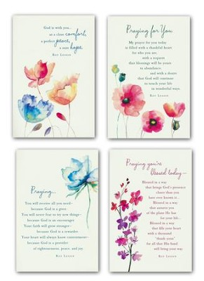 Watercolor Prayers, KJV Scripture, Boxed Cards  -     By: Roy Lessin
