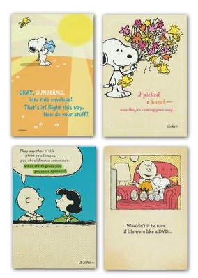 Peanuts Get Well Boxed Cards