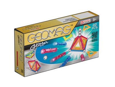 GEOMAG Panels Glitter (22 Pieces)   -