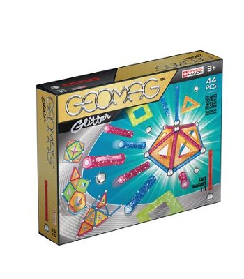 GEOMAG Panels Glitter (44 Pieces)   -