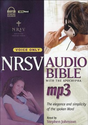 NRSV Audio Bible with the Apocrypha on MP3   -     Narrated By: Stephen Johnston